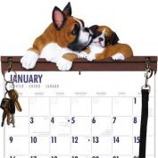 Boxer Calendar Caddy & Leash Hook by DogBreedStore.com