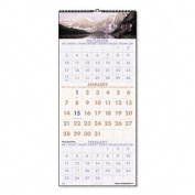 AAGDMW50328 - At-a-Glance Recycled Scenic 3-Month Wall Calendar
