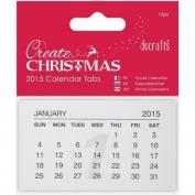 Anita's Calendar Tabs 10/Pkg-2015