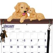 Golden Retriever Calendar Caddy & Leash Hook by DogBreedStore.com