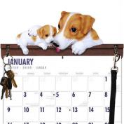 Jack Russell Terrier Calendar Caddy & Leash Hook by DogBreedStore.com