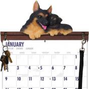 German Shepherd Calendar Caddy & Leash Hook by DogBreedStore.com