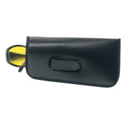 Crews Eyeglass Case w/ Belt Clip BLACK - Safety Glasses case