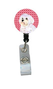 Maltese Retractable Badge Reel or ID Holder with Clip