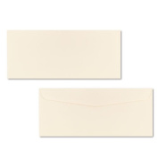 Neenah Paper 6557100 Classic Crest #10 Envelope, Traditional, Baronial Ivory, 500/Box