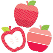 Painted Palette Poppy Red Apples 10 Designer Cut-Outs