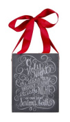 Primitives by Kathy Holy Night Chalkboard