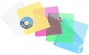 Filexec Products 30203 iFile Poly Pocket Divider 5 Tab 8.5x11 Asst