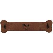 Pug Calendar Caddy and Leash Hook by J.C.Homan