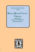 Records of King & Queen County, Va.