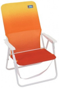 RIO BRANDS LLC Aloha Collection Sun N' Sport Chair, Steel & Polyester