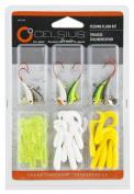 Celsius Ice Fishing Feeding Flash Jig Kit Multi-Coloured
