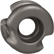 RADICAL ARCHERY DESIGNS Super Deuce 38 Grey Peep Sight 0.4cm