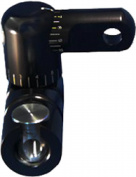 Shrewd Shrewd Single Adjustable V-Bar Black