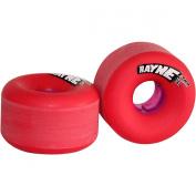Rayne Envy Series Skateboard Wheels, Purple Core, 62mm, 98a
