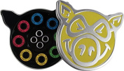 Pig Neon Abec-5 Bearings Single Set
