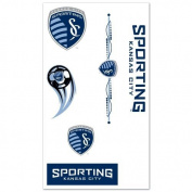 Sporting KC Kansas City MLS WinCraft Sports 7 Temporary Tattoos