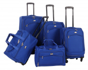 American Flyer Luggage South West Collection 5 Piece Spinner Set
