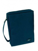 Bible Cover - Durable Polyester - Medium - Navy Blue