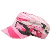Enzyme Regular Army Cap Adjustable Strap , Pink Camouflage