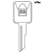 Hy-Ko Key Blank Cylinder Freight Liner Ez# Ra7 Single Sided 10 Pc / Bag Upc Coded