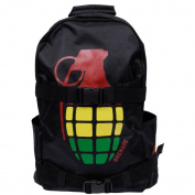 Grenade Bomb Backpack Black Mens