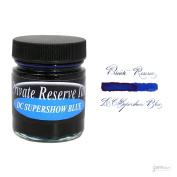 Private Reserve 66 ml Bottle Fountain Pen Ink, DC Supershow Blue