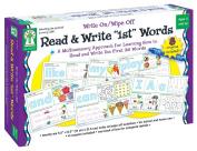 Read & Write First Words Write On/Wipe Off Manipulative