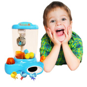 Toy Cubby Electronic Mini Arcade Claw Candy Treats and Toy Ball