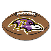 Fanmats Baltimore Ravens Football Mat