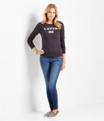 Aeropostale Womens Latte Me Sweatshirt 001 L