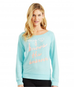 Aeropostale Womens LLD Heart Sweatshirt 497 XS