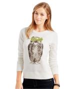 Aeropostale Womens Owl Swag Sweatshirt 047 XL
