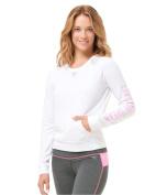 Aeropostale Womens Mesh Popover Sweatshirt 102 XS