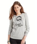 Aeropostale Womens Hipster Santa Hoodie Sweatshirt 052 L