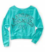 Aeropostale Womens Ny Athletic Pullover Sweatshirt 113 M
