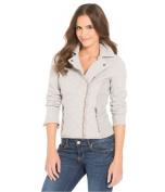 Aeropostale Womens Quilted Moto Sweatshirt 052 XL