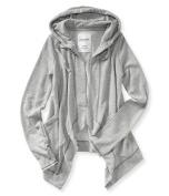 Aeropostale Womens Hooded Drape Hoodie Sweatshirt 052 L