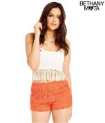 Aeropostale Womens Lace Casual Mini Shorts 870 XL