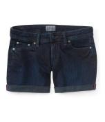 Aeropostale Womens Solid Casual Denim Shorts 189 00