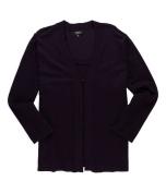 Elementz Womens Knit 2 Fer Cardigan Sweater kara XL