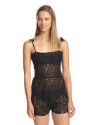 Zinke Women's Sienna Convertible Romper/Dress, Medium, Black