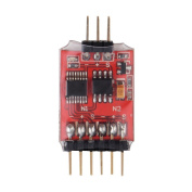 Crazepony 5.8G 3CH Video Switcher Module 3-Way Video Switch Unit for Multicopter FPV Camera