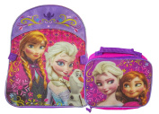 Disney Frozen Full Size Standard Backpack and Lunch Bag - Kids