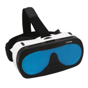 3D VR Glasses Case, TTOBS 3D VR Game Headset Glasses 3D Digital Glasses Fit for IOS & Android within 10cm - 15cm Smartphone, Multicolor Lens Replacement