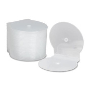 7045-01-554-7681 SKILCRAFT CD/DVD Case - Clamshell - Plastic - Clear - 1 CD/DVD