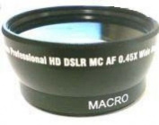 37mm Wide Lens for Sony HDR-XR550, Sony HDRXR550