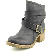 Groove Sydnie Women US 7 Black Ankle Boot
