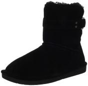 Bearpaw Tessa Women US 6 Black Winter Boot