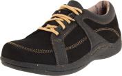 Drew Shoe Women's Geneva,Black Leather/Nubuck,8.5 EE US